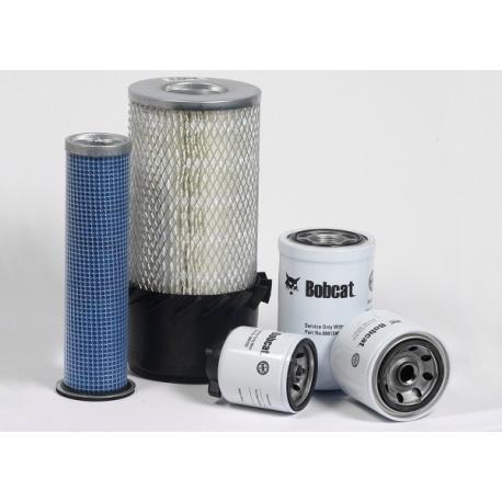 Kit filtre Bobcat S220-S250-S300-S330-A300-T250-T3 (n° A3-A5 ou AA )