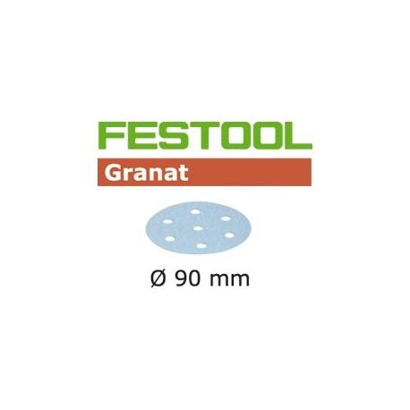 Disques abrasifs Festool STF D90/6 GR grain 1500 par 50