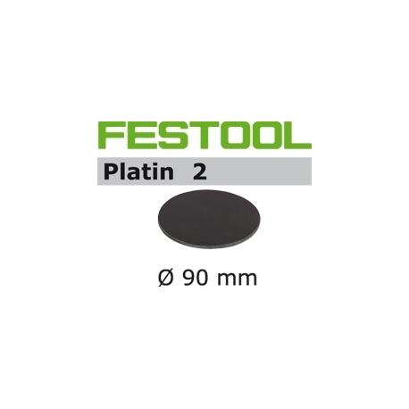 Disques abrasifs Festool STF D90/0 PL2 grain 500 par 15