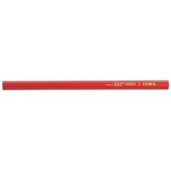Crayon charpentier rouge 30 cm Lyra
