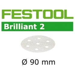 Disques abrasifs Festool STF D90/6 BR2 grain 100 par 100