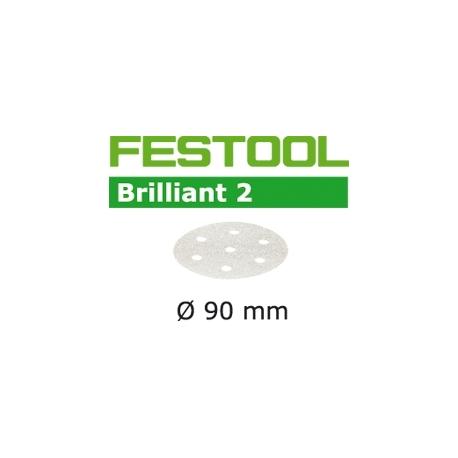 Disques abrasifs Festool STF D90/6 BR2 grain 120 par 100