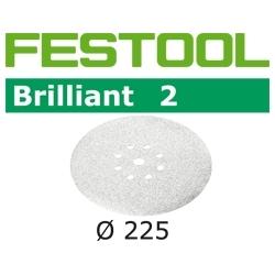 Disques abrasifs Festool STF D225/8 BR2 grain 320 par 25