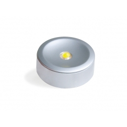 Applique led emuca Alfa NL2 chrome ou aluminium