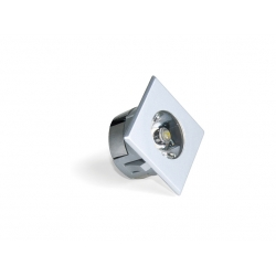 Applique led emuca Alfa QL1 chrome ou aluminium
