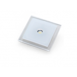 Applique led emuca Delta 2 inox