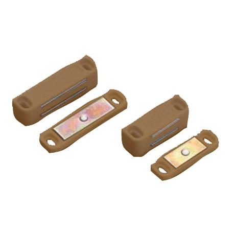 Loqueteau magnetique RALY 4kg marron