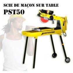 Scie de maçon sur table PST50 Masterpac