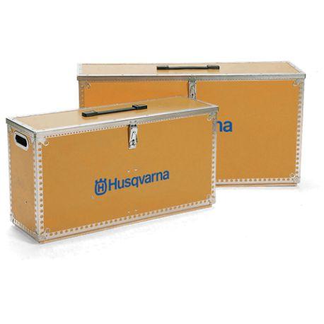 HUSQVARNA Coffret bois de rangement pour découpeuse portative