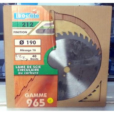 Lame scie circulaire - 965.190.1640