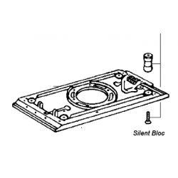 Silent bloc aspirateur RS2 par 4 pièces