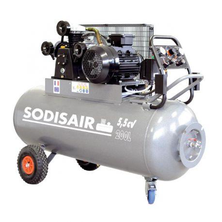 Compresseur drakkar 5,5CV 200 litres