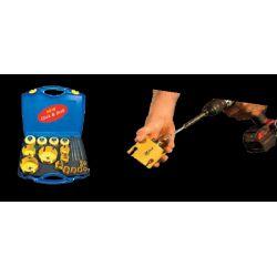Coffrets profit multi pupose scies trépans 25 - 35 - 46 - 56 - 68 - 82 mm