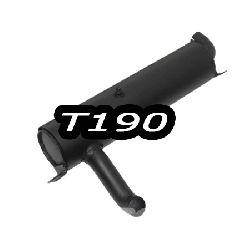 Silencieux pots échappement pour BOCAT T190