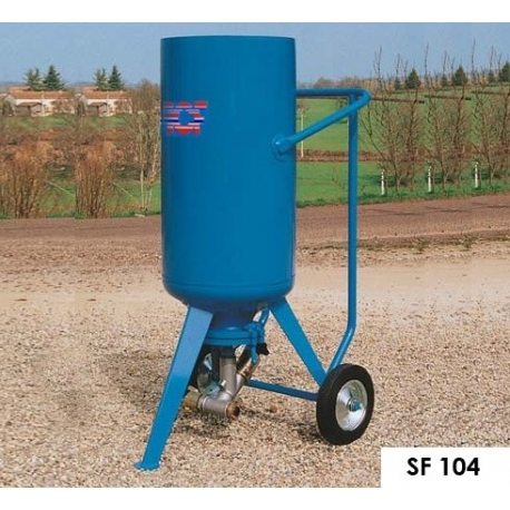 ACF Sableuse SF104 (100L) avec équipements