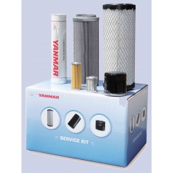 Kit Filtres 250 H standard pour Mini Pelle YANMAR SV05 et SV08
