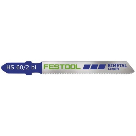 Lames Festool bimetal HS60/2 BI par 5