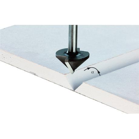 Fraise pour plaques de plâtre Festool S8 HW D12,5/45°