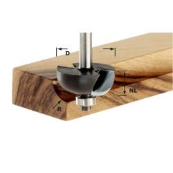 Fraise à gorge creuse avec roulement Festool S8 HW D31,7/R 9,5