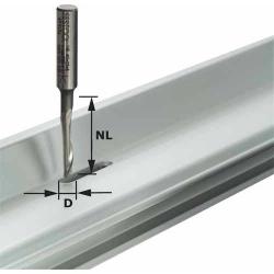 Fraise aluminium Festool S8 HS D5/NL23