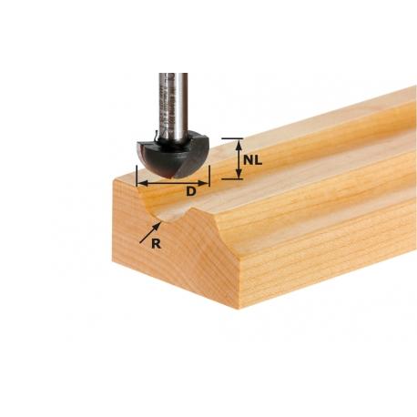 Fraise à gorge creuse Festool S12 HW D40/25/R20