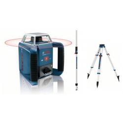 Laser rotatif BOSCH GLR400H Pack exterieur (trépied et mire)