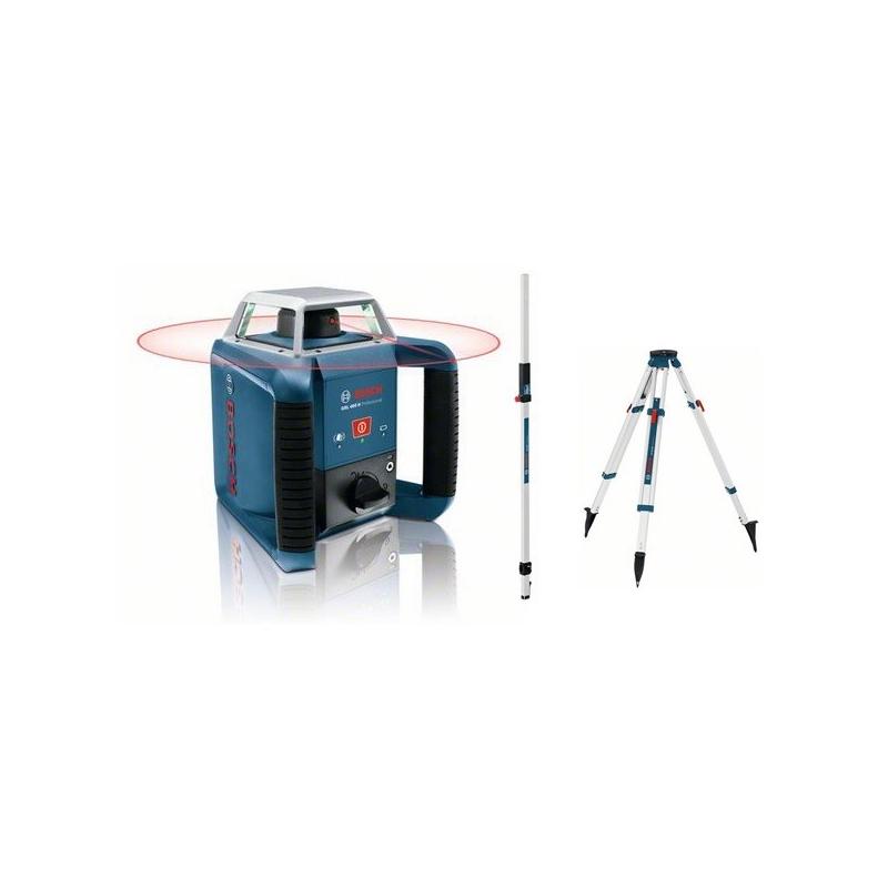 laser rotatif bosch glr400h pack exterieur tr pied et. Black Bedroom Furniture Sets. Home Design Ideas
