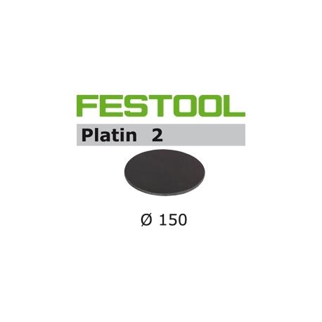 Disques abrasifs Festool STF D150/0 PL2 grain 500 par 15
