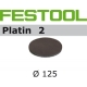 Disques abrasifs Festool STF D125/0 PL2 grain 400 par 15