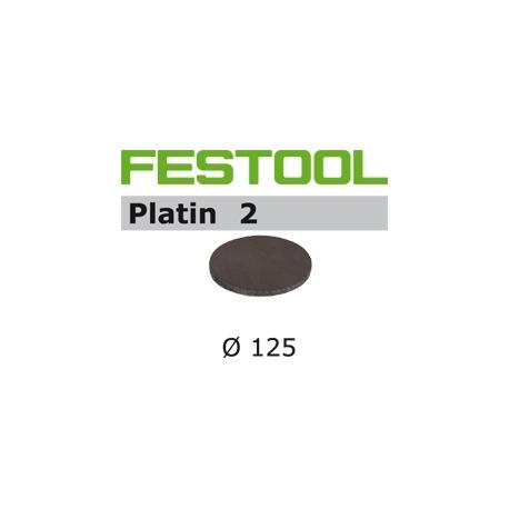 Disques abrasifs Festool STF D125/0 PL2 grain 500 par 15