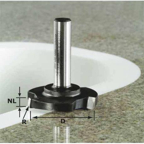 Fraise à surfacer Festool S12 HW D 52/R1ss