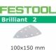 Abrasifs Festool STF Delta/100x150/7 BR2 P120 par 10