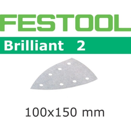 Abrasifs Festool STF Delta/100x150/7 BR2 P180 par 10