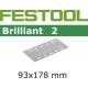 10 FEUILLES ABRASIVES STF93X178/8-grain 80-BR2/ 10
