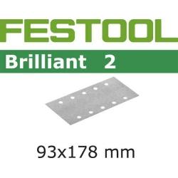 50 FEUILLES ABRASIVES STF93X178/8-grain 40-BR2/ 50