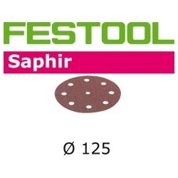 Disques abrasifs Festool STF D125/90 SA grain 36 par 25