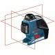 Laser triple plans 360° BOSCH Impulsion GLL3-80P Carton