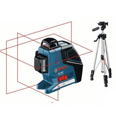 BOSCH Laser lignes GLL3-80P + trépied BT150
