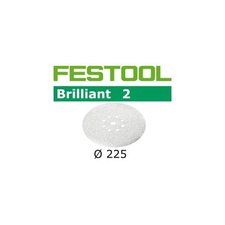 Disques abrasifs Festool STF D225/8 BR2 grain 150 par 25