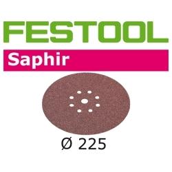 Disques abrasifs Festool STF D225/8 SA grain 36 par 25