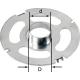 Bague de copiage Festool KR-D 27,0/OF 2200