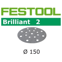 Disques abrasifs Festool STF D150/16 BR2 grain 60 par 10