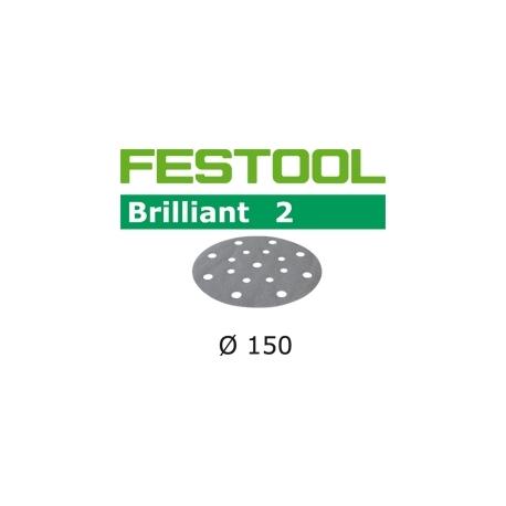 Disques abrasifs Festool STF D150/16 BR2 grain 120 par 10