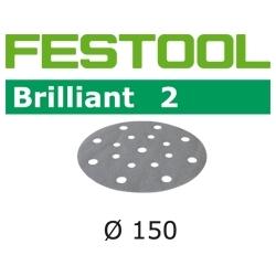 Disques abrasifs Festool STF D150/16 BR2 grain 220 par 100