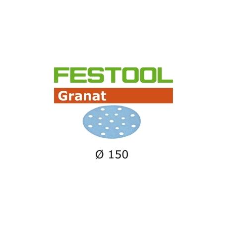 Disques abrasifs Festool STF D150/16 GR grain 320 par 10