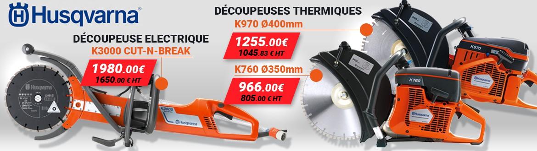 HUSQVARNA Promos - Découpeuse thermique - Découpeuse Electrique